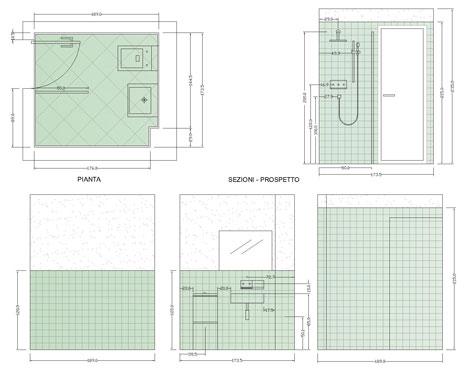 Bagni completi progetti di bagni cad dwg - Stock bagni completi ...