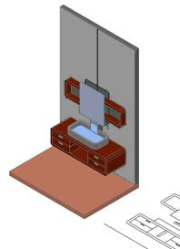mobili bagno 3d - bathroom furniture 3d - Arredo Bagno 3d