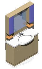 Mobili bagno 3d bathroom furniture 3d - Bagno chimico dwg ...