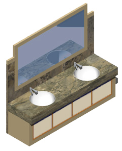 Mobili bagno 3d bathroom furniture 3d for Arredi 3d dwg
