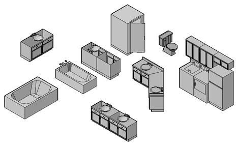 Blocchi sanitari 3d sanitari dwg for Arredi per autocad