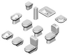 Blocchi sanitari 3d sanitari dwg for Progettare un bagno in 3d gratis
