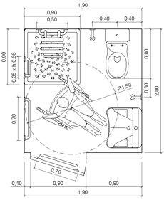 Awesome Archweb Bagno Disabili Ideas - New Home Design 2018 - ummoa.us