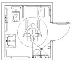 Ricerche correlate a bagno pubblico disabili dwg
