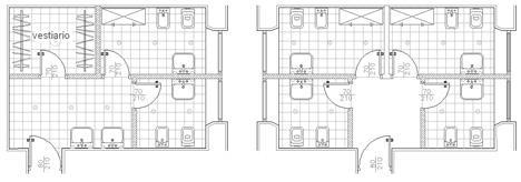 bagni pubblici dwg - servizi igienici per il pubblico (2)