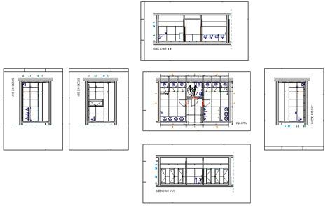 Bagni pubblici dwg servizi igienici per il pubblico 2 for 2 piani letto 2 bagni