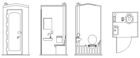 Bagni chimici pubblici 5 wc chimico - Bagni chimici da cantiere prezzi ...