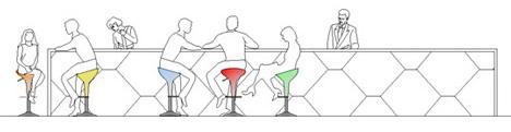 Tavolini 2d Tavolini Bar Dwg