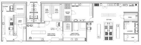 Cucina industriale dwg restaurant kitchen - Dimensioni mobili cucina ...
