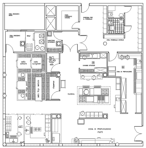 Restaurant Kitchen Plan Dwg commercial floor plans commercial pool plans ~ home plan and house
