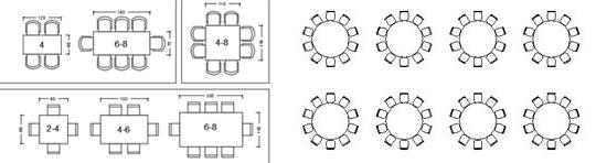 Dimensione Tavolo 6 Posti. Finest With Dimensione Tavolo ...