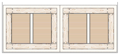 Cancelli in legno