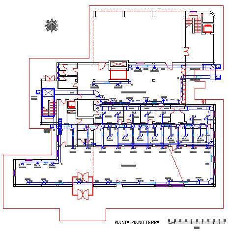 Climatizzazione dwg fisica tecnica e impianti for Impianto condizionamento canalizzato