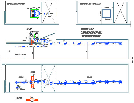 Climatizzatore dwg for Impianto climatizzazione