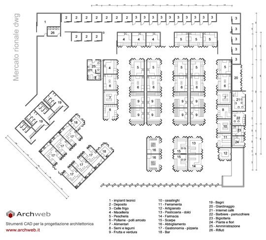 Fiori 3d Archweb.Mercati Di Quartiere Dwg