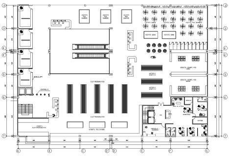 Ipermercati progetti e schemi distributivi dwg for Il piccolo hotel progetta le planimetrie