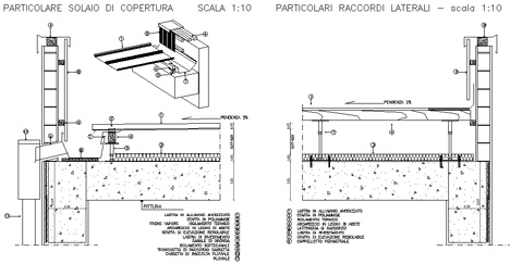 Coperture piane flottanti dwg - Dettaglio pavimento flottante ...