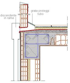 Dettaglio costruttivo per una copertura praticabile con superficie con ...: www.archweb.it/dwg/coperture/coperture_piane/solaio_copertura_2.htm