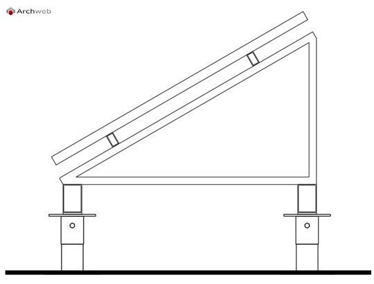 Pannello Solare Disegno City : Pannello fotovoltaico autocad dwg