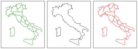 Cartina Italia Dwg.Italia In Dwg