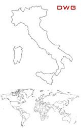 Cartina Italia Dwg.Planimetria Di Venezia In Dwg