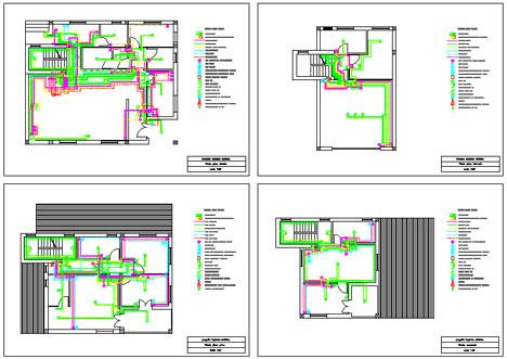 Impianti elettrici progetto impianto elettrico dwg for Progettazione impianto elettrico casa