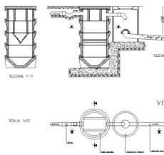 vasca imhoff dwg fossa biologica