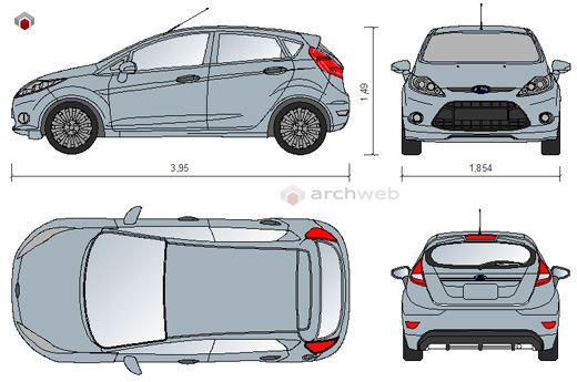 Ford cad dwg auto ford dwg for Porte archweb