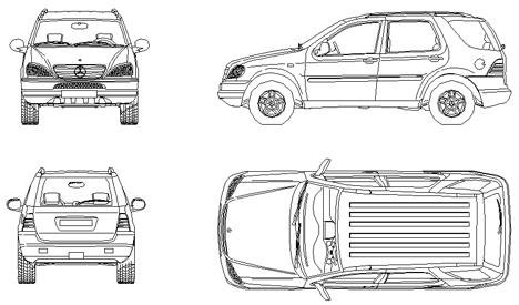 Mercedes Cad Dwg