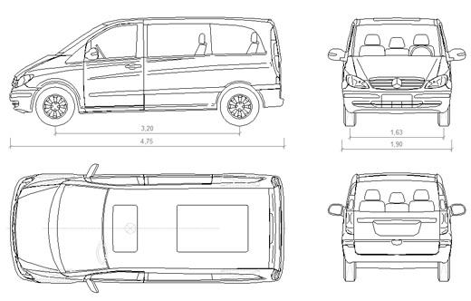 Mercedes Benz Dwg Drawings