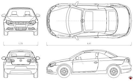 Volkswagen_dwg_drawings