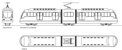Treni 2d treni dwg train dwg for Schema fossa imhoff dwg