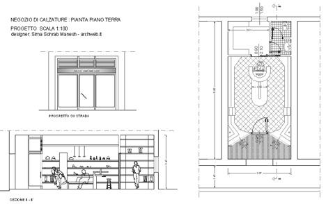 Mobili lavelli arredo negozi dwg for Arredo ufficio dwg
