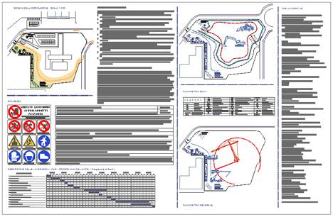 Organizzazione del cantiere disegni dwg for Esempi di disegni di planimetrie della casa