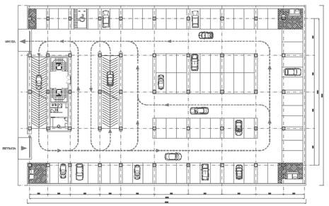 Parcheggi autorimesse for Piccoli piani di progettazione di edifici commerciali