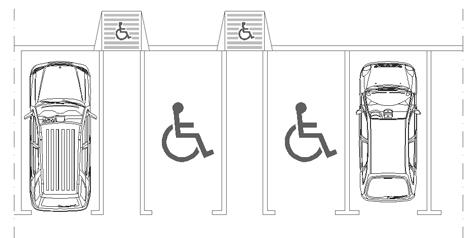 Parcheggi per invalidi - diversamente abili