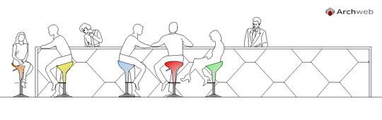 Persone Sedute Al Tavolo Al Bar O Ristorante