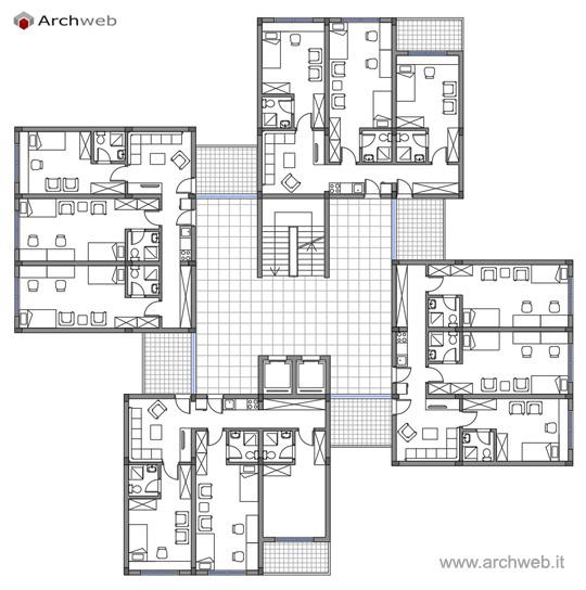 Case dello studente student residences for Piani di casa torre