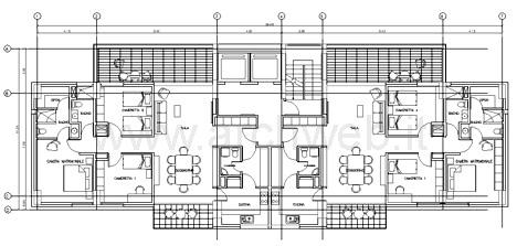 Residenze in linea dwg case in linea for Progetti di costruzione famosi
