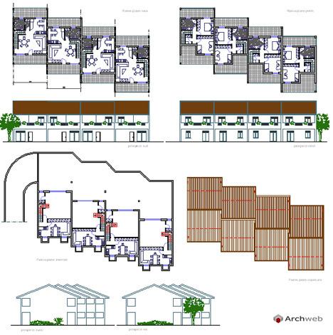 Residenze Dwg Indice Dwg Case A Schiera 1 2 Sono Presenti Nella Nostra