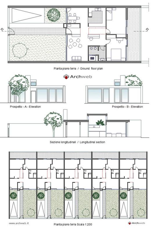 Case a schiera 7 - Casa a schiera progetto ...