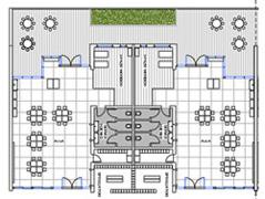 Schemi progetto per mensa per scuola materna for Arredi spogliatoi dwg