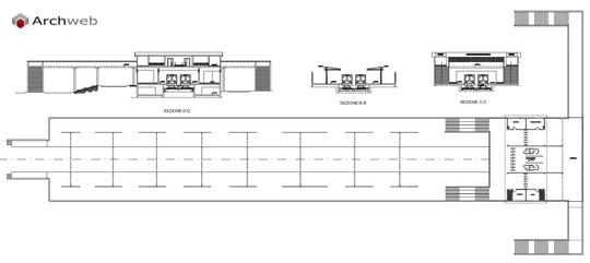 Stazioni ferroviarie dwg for Schema fossa imhoff dwg