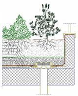 Il tetto giardino 1 for Arredo giardino dwg