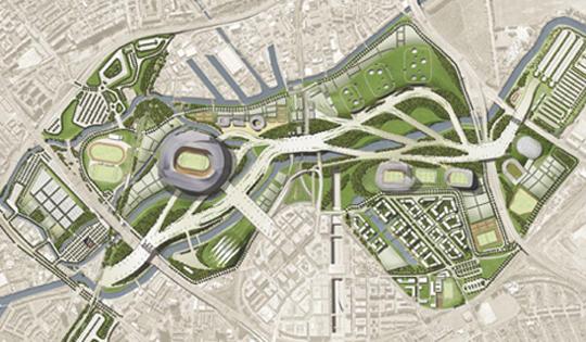 Il master plan for Master architettura