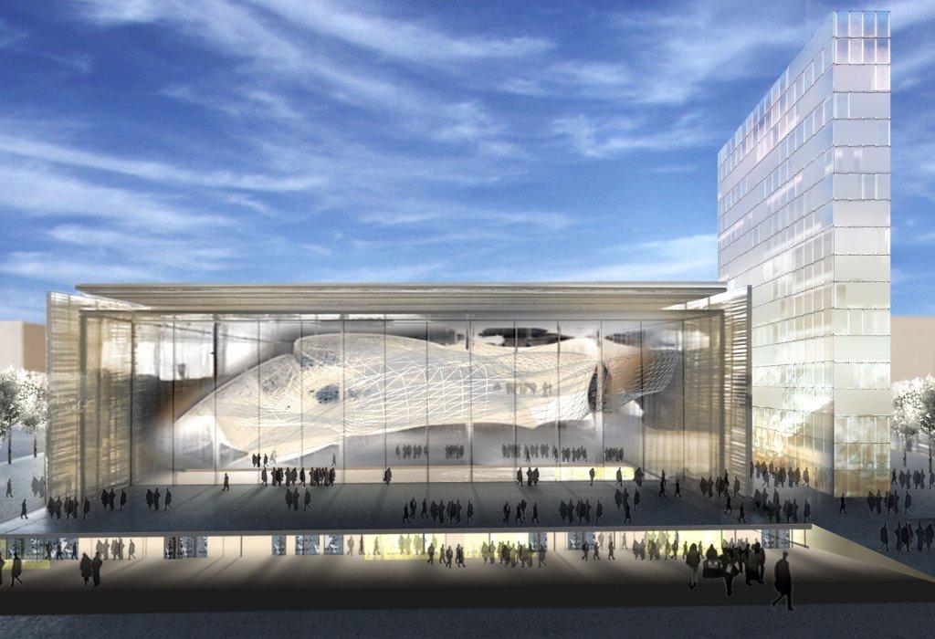 Roma centro congressi nuvola di m fuksas for Da architecture